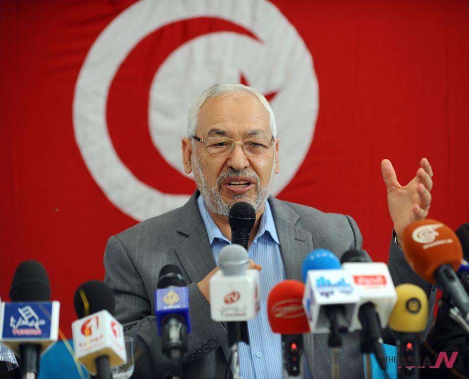الشيخ راشد الغنوشي، رئيس حركة النهضة التونسي