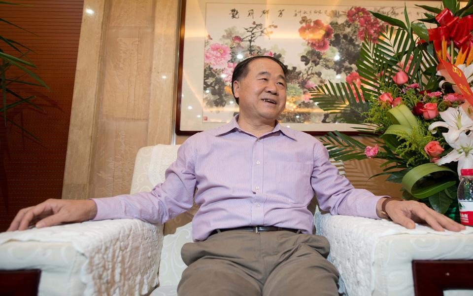الصيني (مو يان) الفائز بجائزة نوبل للآداب يخاطب العرب من السعودية