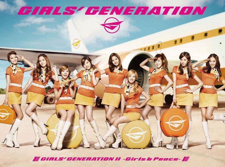 """ألبوم ياباني جديد للفرقة الكورية """"Girls' Generation"""""""