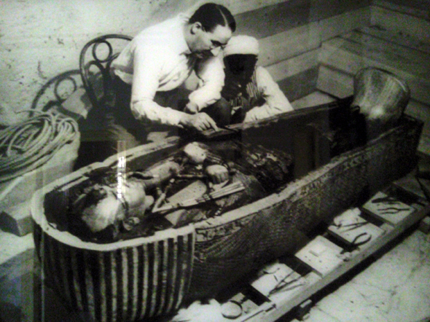 تسعون عاما على إكتشاف مقبرة الفرعون الذهبى