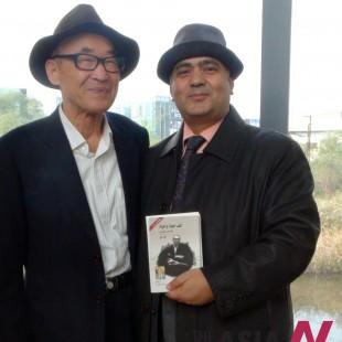 لقاء الشاعر الكوري الكبير كو أون ومترجمه إلى العربية الشاعر أشرف أبو اليزيد