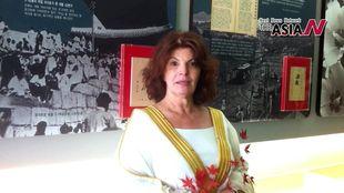 الكاتبة الأردنية نجوى الزهار تهنيء بانطلاقة آسيا إن