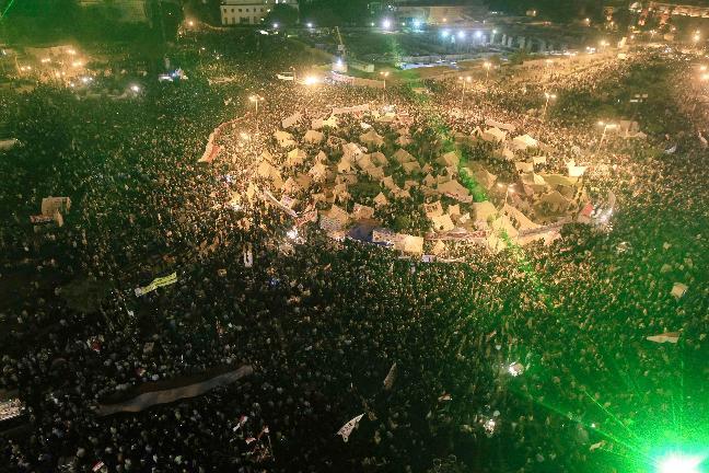 الثورة تستعيد شبابها في ميدان التحرير