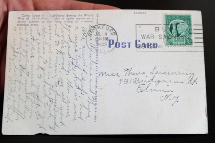 بطاقة بريدية عمرها 70 عاماً تصل منذ أسبوع