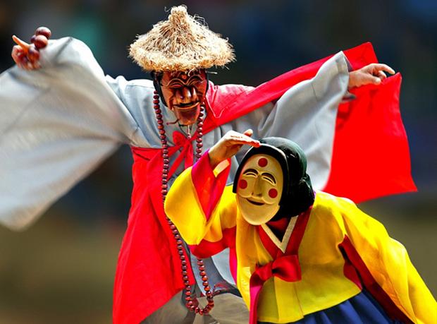 حكايات شهر زاد كوريا: رقصة القناع