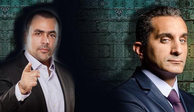 باسم يوسف: عام 2012 بدأ بهتاف (إسقاط حكم العسكر)، وسار في (الحارة المزنوقة)، وانتهى بدعوة (اليهود) لمصر!