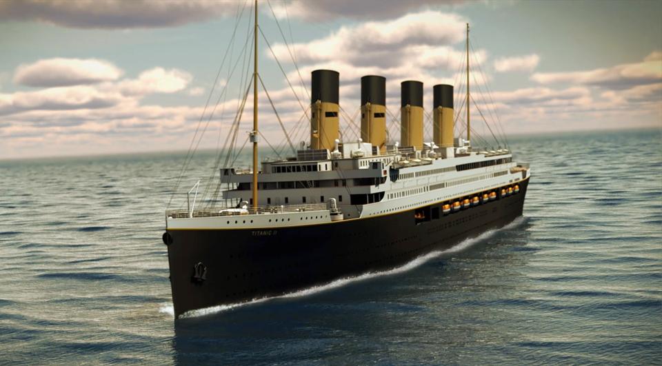 ملياردير أسترالي يعيد بناء السفينة تيتانيك
