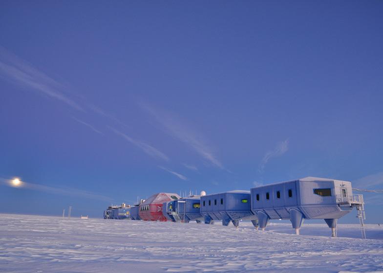 أنتاركتيكا: تشغيل أول مدينة متحركة في العالم
