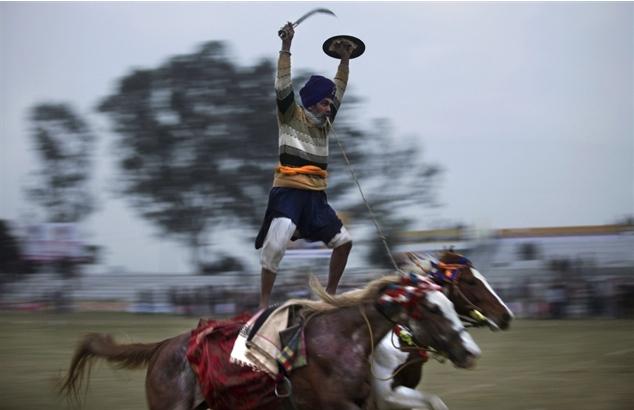 الهند: الأولمبياد الريفية ليست لضعاف القلوب