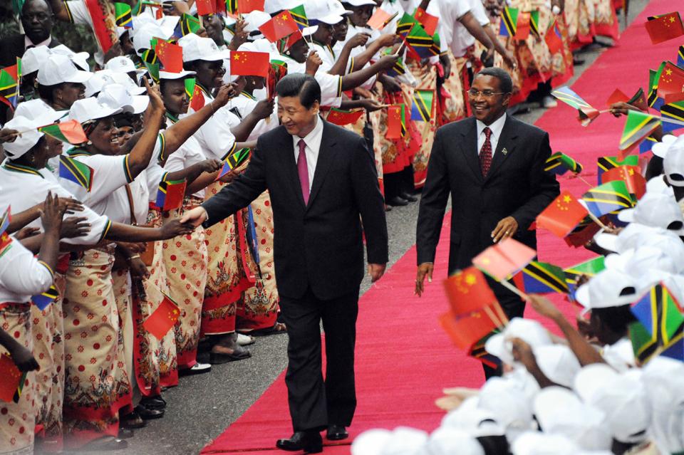 زعيم الصين في ضيافة تنزانيا