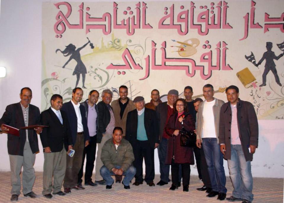 انطلاقة مهرجان مسرح الهواة بمدينة (القطار) في ولاية (قفصة) مهد الثورة التونسية