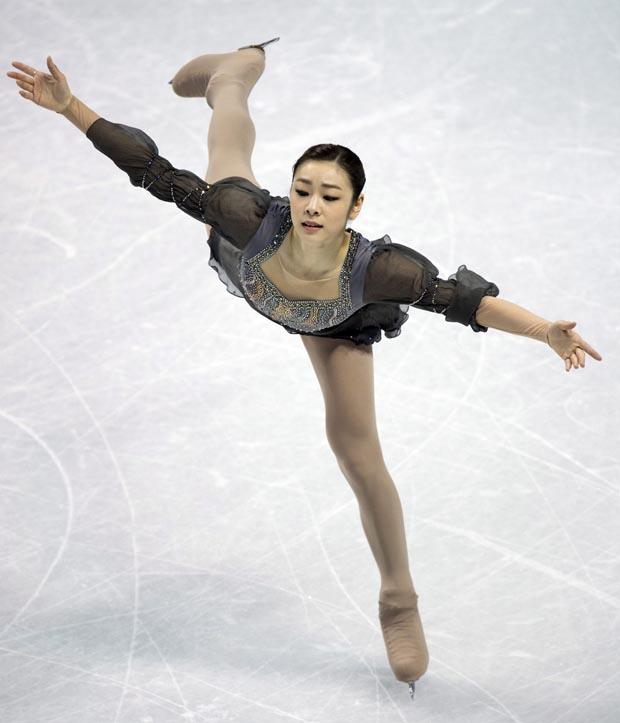 كيم يونا: فراشة فوق الجليد