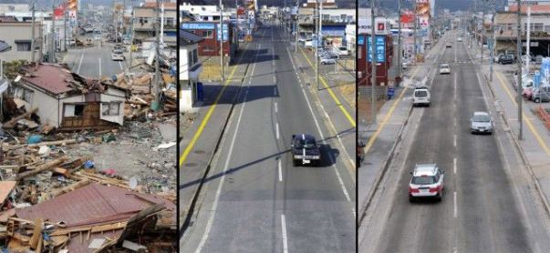 شمال شرق اليابان: عامان بعد التسونامي