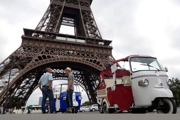 التوك توك، من مومباي إلى باريس، مرورا بالكويت ودبي!