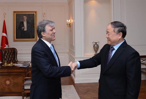 تركيا تطلق مشروع 100 مفكر صينى، ورئيسها يستقبل (مويان)!