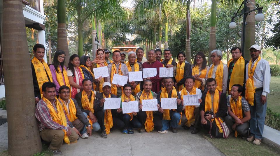 بيان جمعية صحفيي آسيا بنيبال 2014