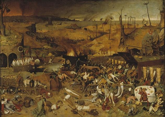 الموت في فنون العصور الوسطى