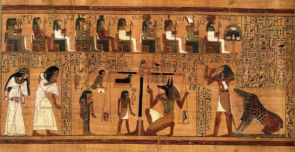 آلهة مصر الفرعونية … بين الريشة والقلب