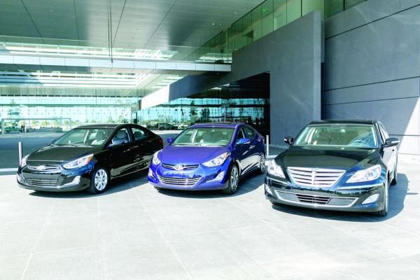 هيونداي موتور تحصد 3 جوائز عالمية