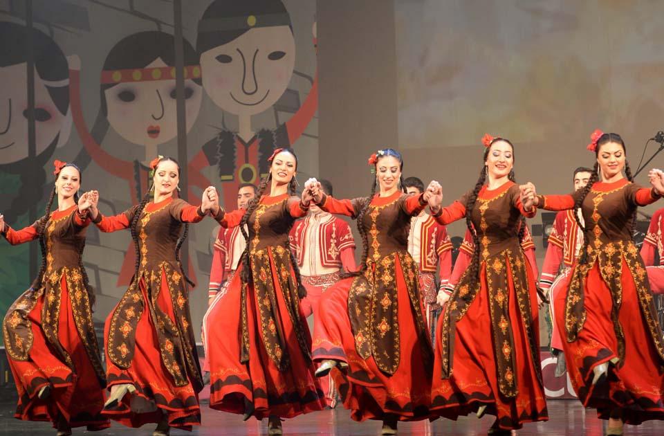 فنون القوقاز لجمهور جوانج جو