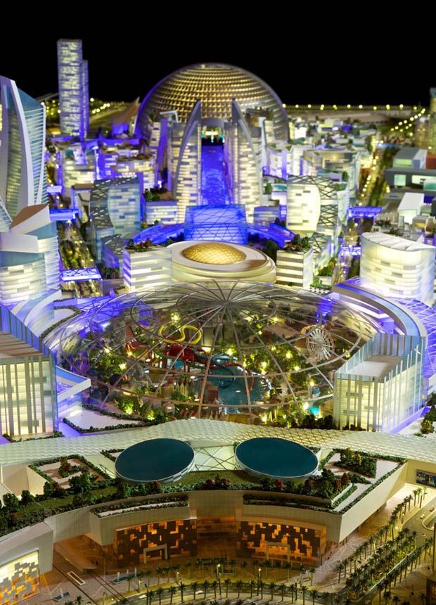 مول العالم في دبي