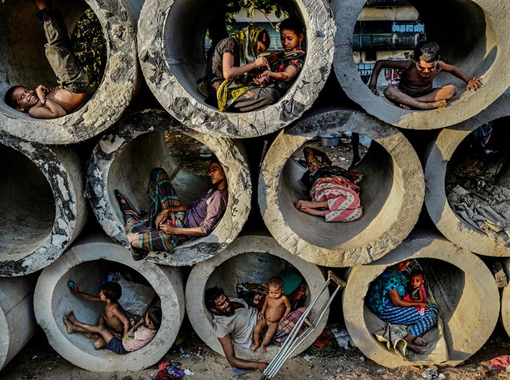مصور العام لظروف بيئية صادمة